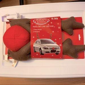 Rudolph Car Costume